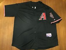 Authentic Majestic Brand Arizona Diamondbacks Jersey Size 60 w Name Zellers