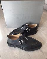 Alexander McQueen mens shoes Scappa pelle Gomma black Size EU40 UK7. Brand new