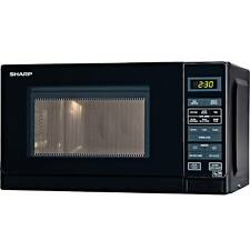 Sharp R272KM Compact Touch Control 20L 800W 6 Programmes Microwave in Black New