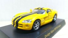 1/64 Kyosho DODGE VIPER SRT-10 YELLOW diecast car model