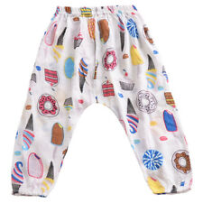Toddler Baby Kid Boy Girl Floral Cotton Long Pants Leggings Trousers Bottom 1-5Y