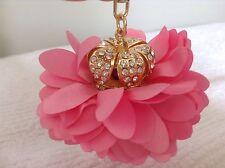 Crystal Crown Flower Charm Car Key Key Chain Key Ring