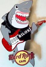 Hard Rock Cafe BILOXI 2007 Great White SHARK Playing Red GUITAR PIN - HRC #38763
