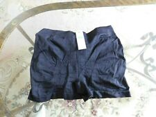 Femina Lingerie One Size fits all Black Stretch Underwear Padded Butt NWT $15.99