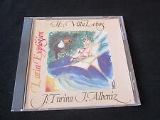 ALBENIZ VILLA-LOBOS TURINA Latin Explosion CD SUITE IBERIA SPAIN
