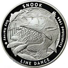 2016 Guy Harvey Series 2 | The Snook - Line Dance | 1 oz .999 Silver Round Coin