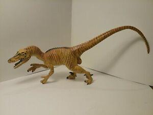 "Vintage 1993 Safari Ltd. Velociraptor Dinosaur 11"" Figure Toy in great shape."