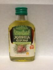 Siberian Cedar Resin (5%) in Cedar  Pine Nut Oil (95%) , Turpentine, Altay