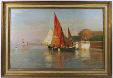 Manuel Wielandt, Bacino di San Marco, Venedig, 1897, Öl auf Holz, 54 cm x 35 cm