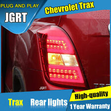 JGRT For Chevrolet Trax Dark / Red LED Rear Lights Assembly LED Tail Lamps 15-18