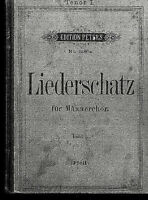 Pfeil : Liederschatz für Männerchor - Tenor