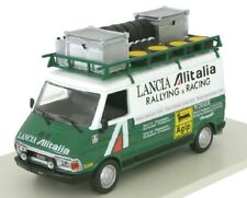 IXO-Eaglemoss 1/43 Fiat 242 Service Van Alitalia Lancia Rally Team + Equipment