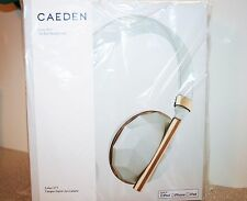 CAEDEN Linea No 1 Faceted Ceramic & Rose Gold On-Ear Headphones NEW SEALED BOX!!