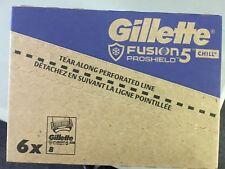 NEW Authentic Men's Razor Blades Refills Gillette Fusion 5 ProShield Chill 48 Ct