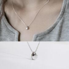 Halskette Tropfen echt Sterlingsilber 925 rhodiniert 37,5+5 cm Damen Collier