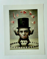 Mark Ryden The Ringmaster (Detail) Portfolio Print Pop Surrealism Abe Lincoln