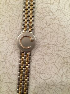 Bioflow magnetic therapy bracelet - gold tone