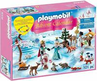 NEW Playmobil 9008 Christmas ROYAL ICE SKATING TRIP Advent Calendar RETIRED