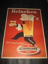 Poster Werbung Bier Heineken