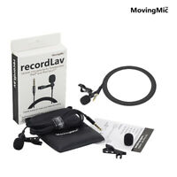 Recording Lavalier Clip Microphone­ for Smartphone Camera PC Youtube Boardcast