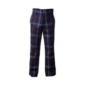 New Golf Trousers Men's Cotton Tartan Trews Heritage of Scotland- Various Sizes