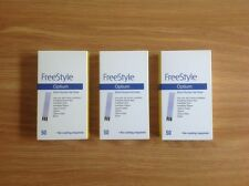 Freestyle optium test strips. Three packets of 50.
