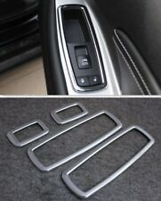 For Chrysler 300 300C 2011-2015 Chrome Interior Door Window Switch cover trims