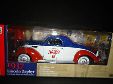 Auto World Lincoln zeypher PEPSI-COLA 1937 1/18