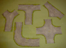 wargames 15mm dirt road junctions no 5 FOW FOG handmade by FAT FRANK