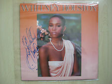 Whitney Houston Autogramm signed LP Vinyl