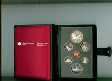 1981 CANADA Double Dollar Proof Set  W/ TRAIN SILVER DOLLAR
