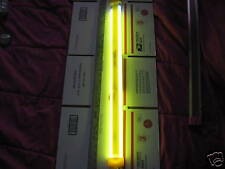 """28""""AMBER~NEON~COLD CATHODE~LIGHT~GROUND EFFECT$98$OBO"""