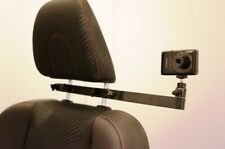 RacerMount in-car headrest camera mount for in car video