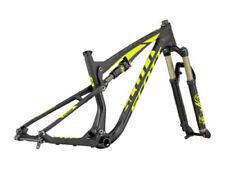 Fahrradrahmen aus Carbon mit Vollfederung