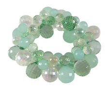 Fabulous New Sea foam Green Colored Bubble Statement Bracelet #B1384