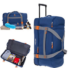 Reisetasche Räder Bestway Colori Trolley XXL 78 cm Reisetrolley Gepäck bag Blau