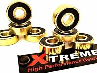 Xtreme SWISS GOLD 608 HIGH PERFORMANCE BEARINGS SKATEBOARD SCOOTER - UK