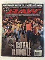 WWE Raw Magazine 2005 January Royal Rumble Kurt Angle Dean Ambrose Big Show WWF