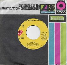 THE ROLLING STONES  Angie / Silver Train  45 from 1973