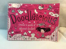 Doodleicious spiral hardcover doodle book by Tracy Hare