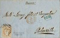 España. Government Provisional. over 113. 1870. 12 Cuartos Castaño. Barcelona To