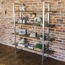 SALE eGB725 - New Detroit Reclaimed Elm Wood Bookshelf - Bookcase - Display Case