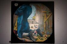 Glass Magic Lantern Slide -Gullivers Travels Lilliput #8