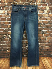 Firefly Denim Women's Jeans Medium Wash Boot Cut Flap Pockets Stretch Size 10