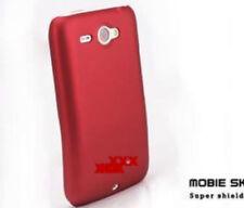 COVER CUSTODIA ROSSO RED PER HTC CHACHA G16 A810E HARD CASE PROTEZIONE NUOVO