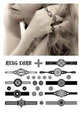 Elegant Temporary Tattoos, Sexy Finger Tattoo - Rings