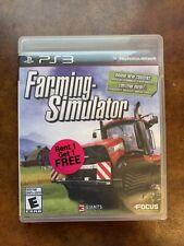 Farming Simulator (Sony PlayStation 3, 2013)