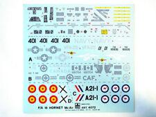 Esci Vintage decals F/a-18 Hornet 1 48 modellismo