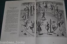 1947 magazine article NATIVE INDIAN Life USA East Coast, John White & Le Moyne