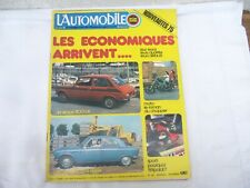 MAGAZINE L'AUTOMOBILE SPORT MECANIQUE n° 342 -  NOVEMBRE 1974
